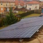 Budapest, 17. kerület, 9,6 kW napelemekkel