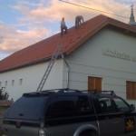 Tolmács Közösségi ház, napelemes rendszer telepítés 5 kW