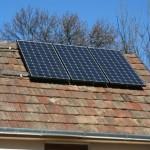 Rétság, napelem rendszer 0,7 kW - infra fűtéshez