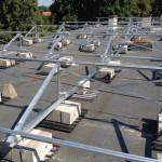 lapos tető szerkezet szigetelés megbontása nélkül