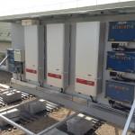 Debrecen 35 kW inverterek, tartószerkezetet is mi készítettük