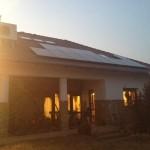 Estére kész lett a napelemes rendszer